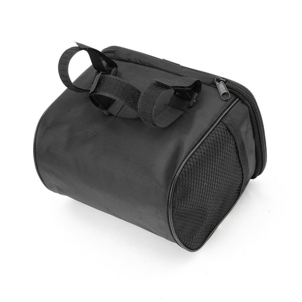 Hot 20 Inch Large Bicycle Bags Capacity Polyester Bike Bicycle Front Basket Durable Waterproof Tube Handlebar Bag Outdoor Sport