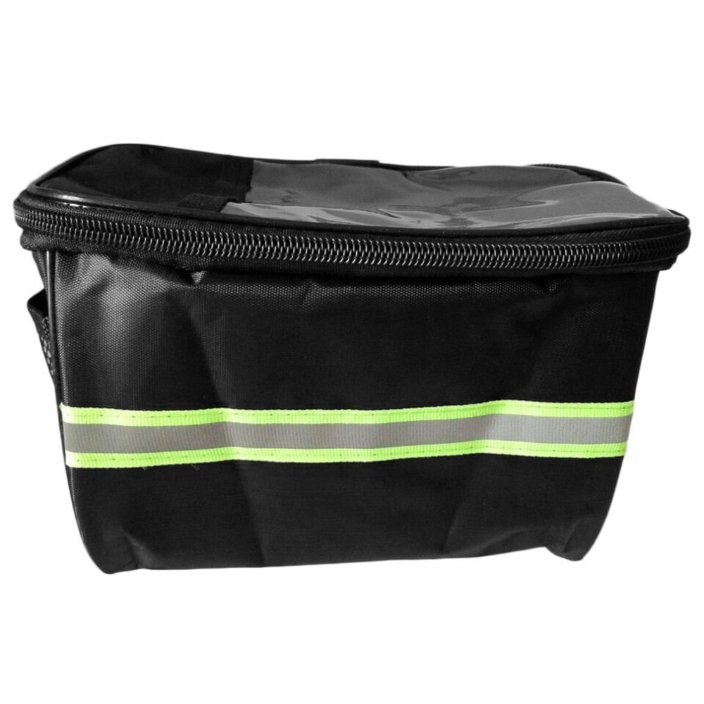 20 Inch Large Capacity Polyester Bike Front Basket Waterproof Handlebar Bag OD