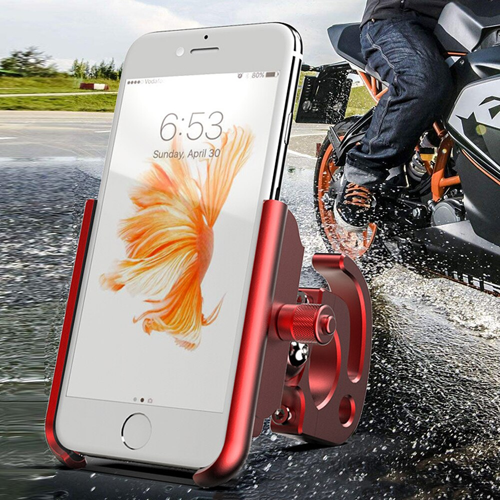 2018 New MTB Cycling Road Bike Phone Holder Aluminum Alloy 360 Degree Rotation Bicycle Mobile Phone Holder Drop ship Support-in Bicycle Rack from Sports & Entertainment on Aliexpress.com | Alibaba