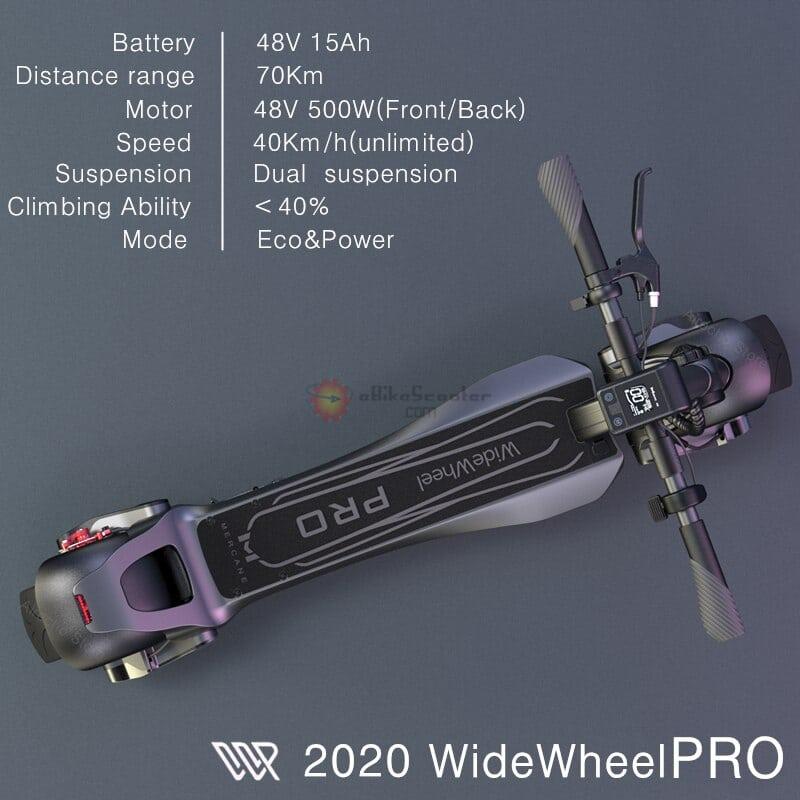 Mercane WideWheel Pro 2020-Dual Brake