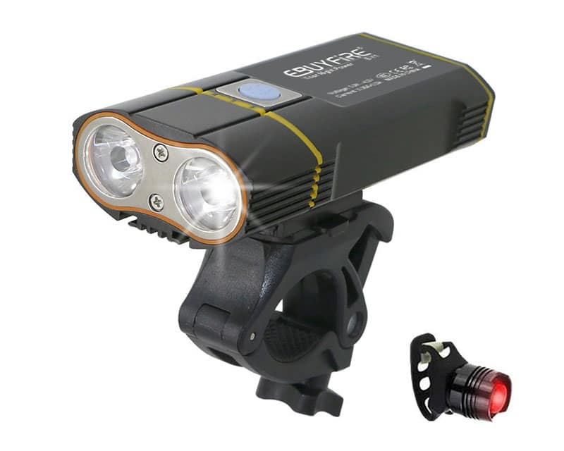 6000LM XM-L2 Rechargeable Front Headlamp Bike Bicycle Headlight Light Torch