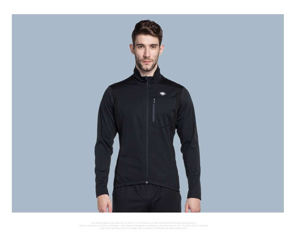 Santic Men Autumn winter Cycling Jacket Windproof MTB Jackets Coat Keep Warm Breathable And Comfort Black or Red clothes KC6104