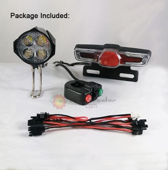 Electric Scooter Turn Signal Horn Lamp Switch Wiring Diagram from ebikescooter.com