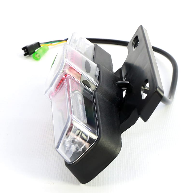 Ebike Tail light Rear Light Safety Warning Rear Lamp 36V//48V Tail Light