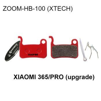 upgrade brake disk xtech-ceramic brake pads